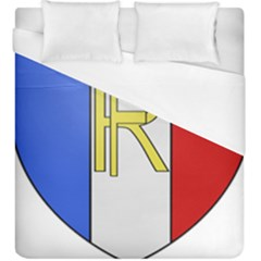 Semi-Official Shield of France Duvet Cover (King Size)