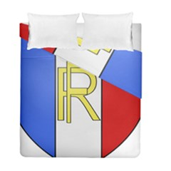 Semi-Official Shield of France Duvet Cover Double Side (Full/ Double Size)