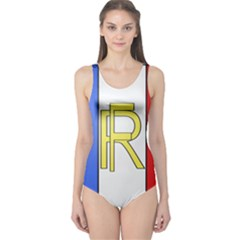 Semi-Official Shield of France One Piece Swimsuit