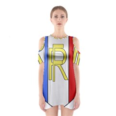 Semi-Official Shield of France Shoulder Cutout One Piece