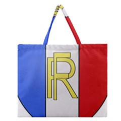 Semi-Official Shield of France Zipper Large Tote Bag