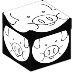 Pig Logo Storage Stool 12