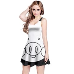 Pig Logo Reversible Sleeveless Dress