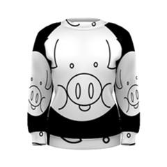 Pig Logo Women s Sweatshirt