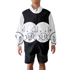 Pig Logo Wind Breaker (Kids)