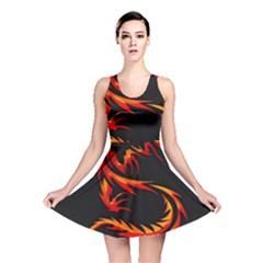 Dragon Reversible Skater Dress