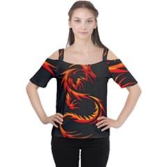 Dragon Women s Cutout Shoulder Tee