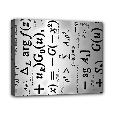 Science Formulas Canvas 10  X 8