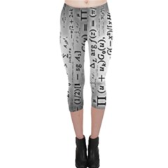 Science Formulas Capri Leggings