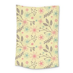 Seamless Spring Flowers Patterns Small Tapestry