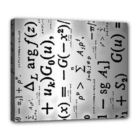 Science Formulas Deluxe Canvas 24  x 20
