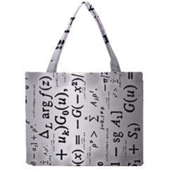 Science Formulas Mini Tote Bag