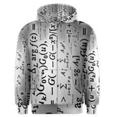 Science Formulas Men s Zipper Hoodie