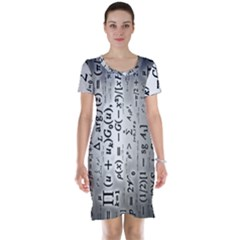Science Formulas Short Sleeve Nightdress