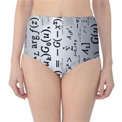 Science Formulas High-Waist Bikini Bottoms
