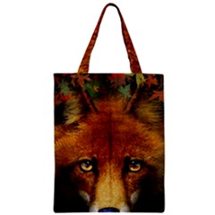 Fox Zipper Classic Tote Bag