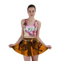 Maps Egypt Mini Skirt