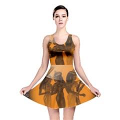 Maps Egypt Reversible Skater Dress
