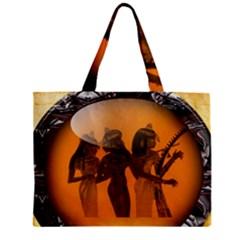 Maps Egypt Zipper Mini Tote Bag