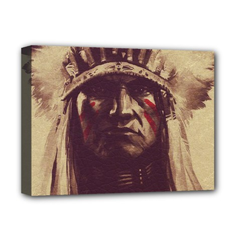 Indian Deluxe Canvas 16  x 12