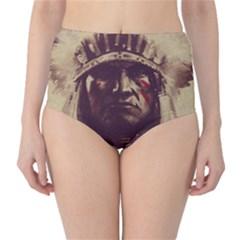 Indian High Waist Bikini Bottoms