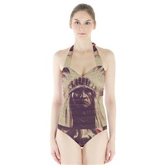 Indian Halter Swimsuit