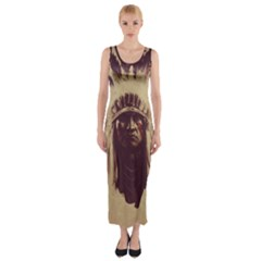 Indian Fitted Maxi Dress