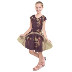 Indian Kids  Short Sleeve Dress