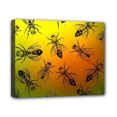 Insect Pattern Canvas 10  x 8