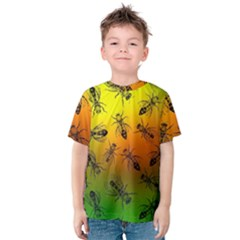 Insect Pattern Kids  Cotton Tee
