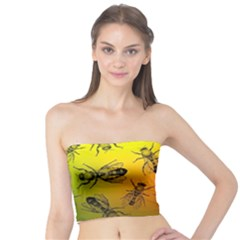 Insect Pattern Tube Top