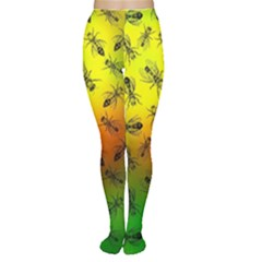 Insect Pattern Women s Tights