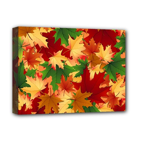 Autumn Leaves Deluxe Canvas 16  x 12