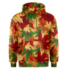 Autumn Leaves Men s Pullover Hoodie