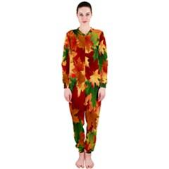 Autumn Leaves OnePiece Jumpsuit (Ladies)