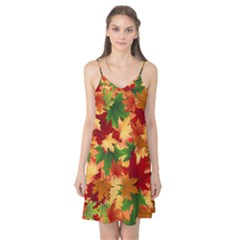 Autumn Leaves Camis Nightgown