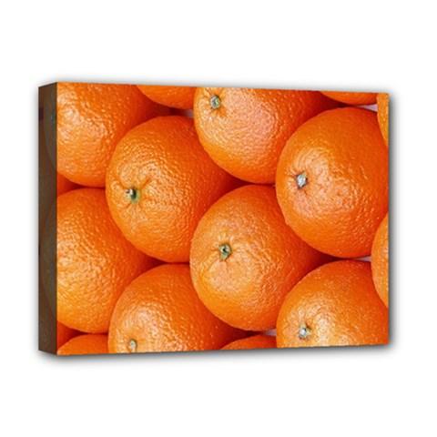 Orange Fruit Deluxe Canvas 16  X 12