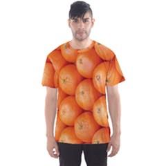Orange Fruit Men s Sport Mesh Tee
