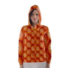 Orange Fruit Hooded Wind Breaker (women)