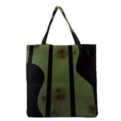 Fractal Prison Grocery Tote Bag