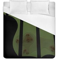 Fractal Prison Duvet Cover (king Size)