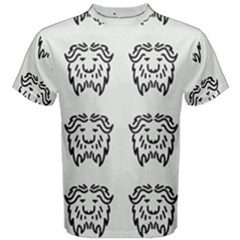 Animal Bison Grey Wild Men s Cotton Tee