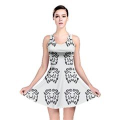 Animal Bison Grey Wild Reversible Skater Dress