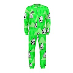 Animals Cow Home Sweet Tree Green OnePiece Jumpsuit (Kids)