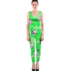 Animals Cow Home Sweet Tree Green OnePiece Catsuit