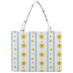 Beans Flower Floral Yellow Mini Tote Bag