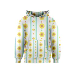 Beans Flower Floral Yellow Kids  Pullover Hoodie