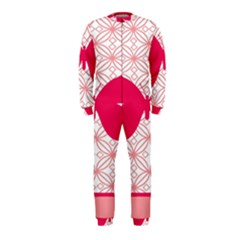 Butterfly Animals Pink Plaid Triangle Circle Flower Onepiece Jumpsuit (kids)