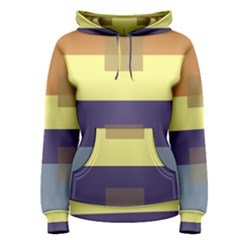 Color Therey Orange Yellow Purple Blue Women s Pullover Hoodie