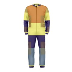 Color Therey Orange Yellow Purple Blue OnePiece Jumpsuit (Kids)